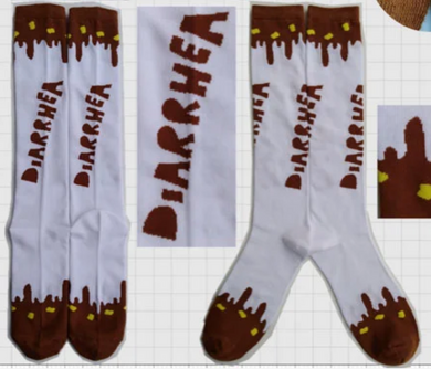 DIARRHEA SOX + STICKER PACK
