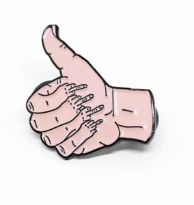 THUMBS UP PIN