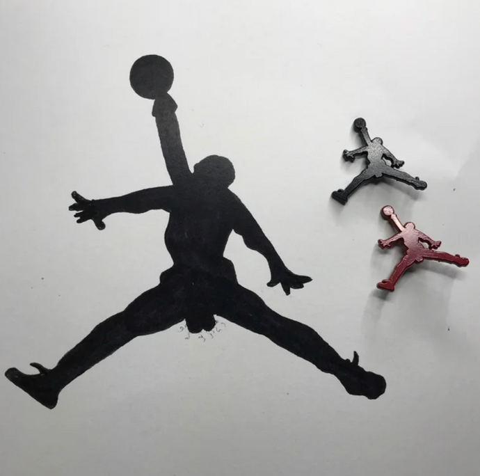 Be like Mike  Pin set