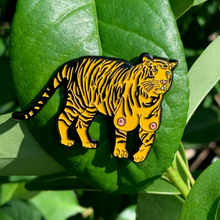 Load image into Gallery viewer, TIGER TITZ ENAMEL PIN & STICKER