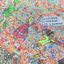 Load image into Gallery viewer, Peter Pan L.S.D. Is Amazing Blotter Sheet Print Limited Edition