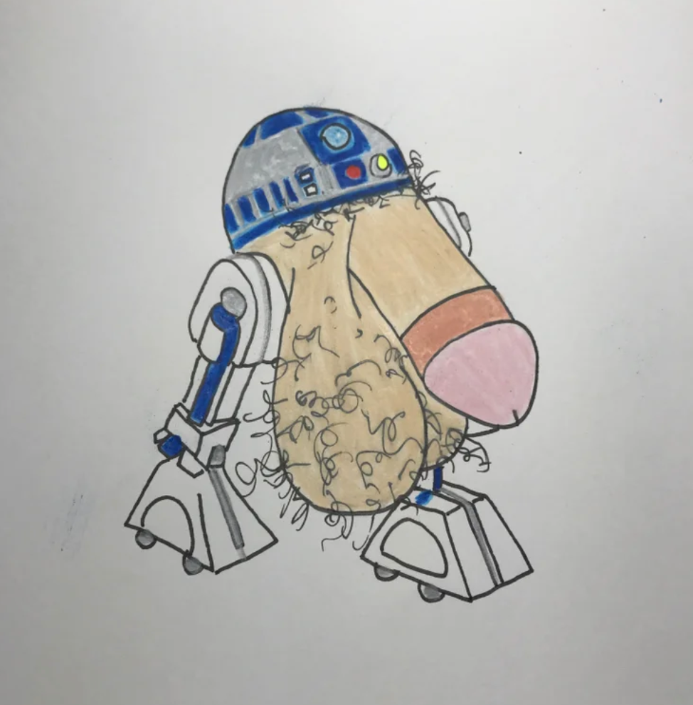 R2DICKANDBALLS ORIGINAL DRAWING