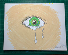 Load image into Gallery viewer, TEARS Original Drawing