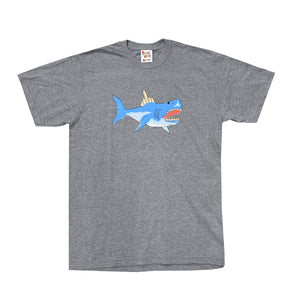 Shark Attack Tee (Grey)