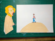 Load image into Gallery viewer, WALDO SUCK ANIMATION PIECES Original Drawing