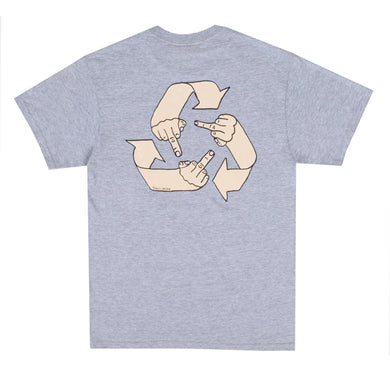 What Goes Around Tee (Heather Grey)