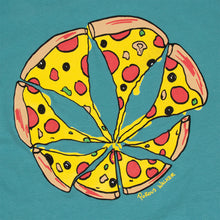 Load image into Gallery viewer, Pizza Leaf Tee (Seafoam)