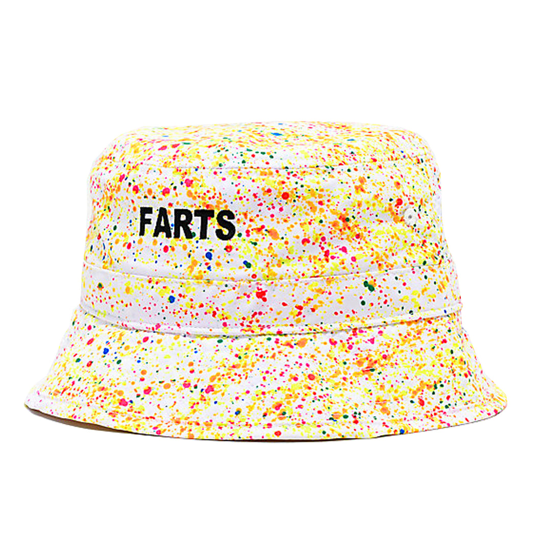 FARTS Bucket Hat (Neon Splatter)