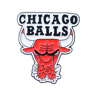 CHICAGO BALLS PIN