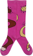 Load image into Gallery viewer, PINK DONGZ WRAP AROUND SOX + Sticker Pack