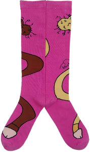 PINK DONGZ WRAP AROUND SOX + Sticker Pack