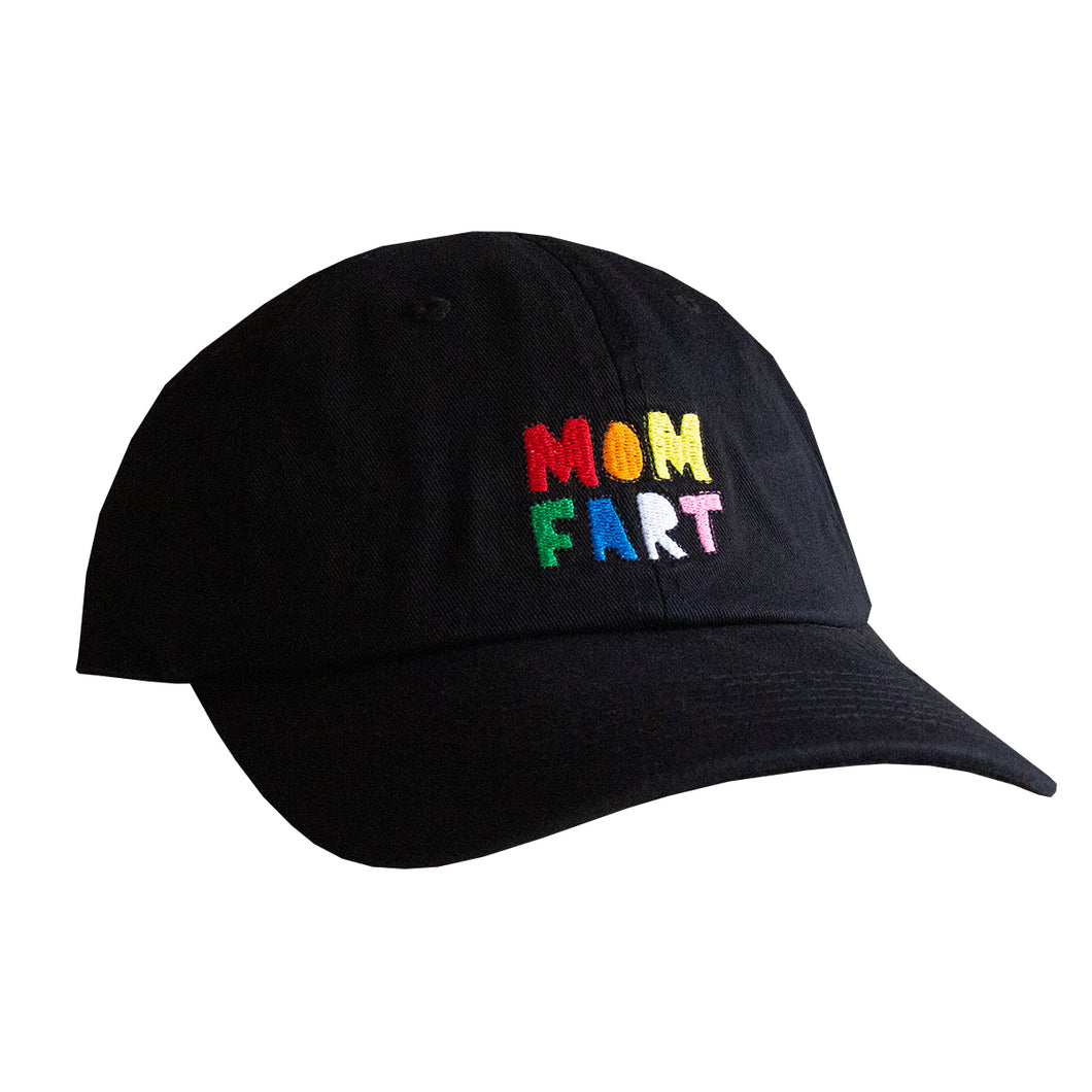 Mom Fart Dad Hat (Black)