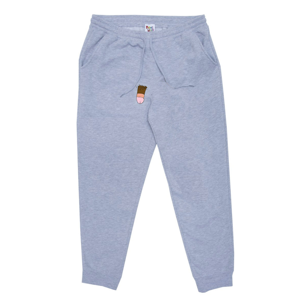 Average Dong Sweatpants (Grey Chocolate)