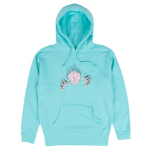 Load image into Gallery viewer, Roaring Vulva Hoodie (Mint)