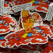 Load image into Gallery viewer, YOU KNEW I WAS A BEAR PIN & PRINT & STICKER