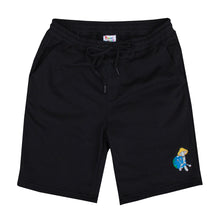 Load image into Gallery viewer, EARTHLINGS SWEATSHORTS (Black)