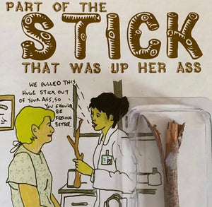 PART OF THE STICK ACTION FIGURE