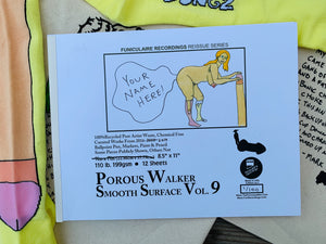 POROUS WALKER SMOOTH SURFACE VOL. 9 BOOK + FREE SOX,TOTE BAG & MORE