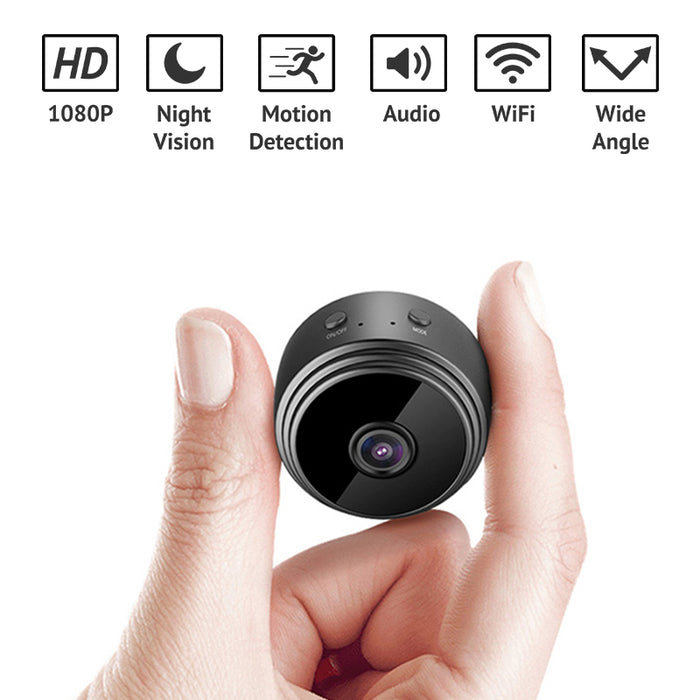 1080p HD Magnetic Spy Camera Mini Video Recorder with Night Vision