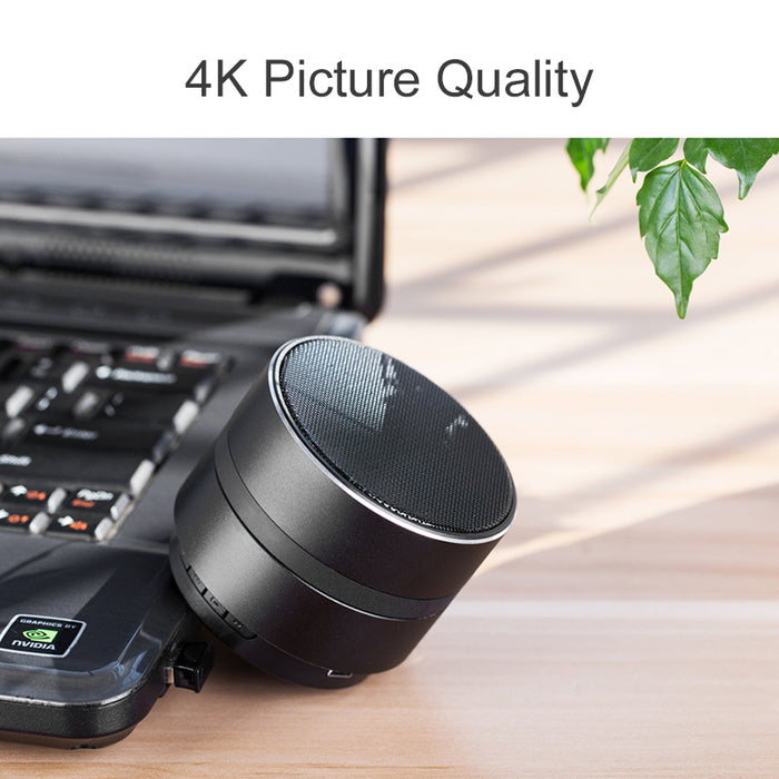 4k Ultra High Resolution Bluetooth Speaker Spy Camera Video Recorder