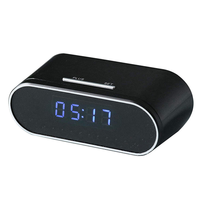 1080p HD Spy Camera Alarm Clock 2.0 Wireless Nanny Cam Live Streaming