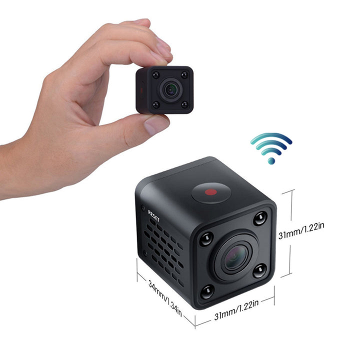 1080p HD Spy Camera Micro Surveillance with Wireless IR Night Vision
