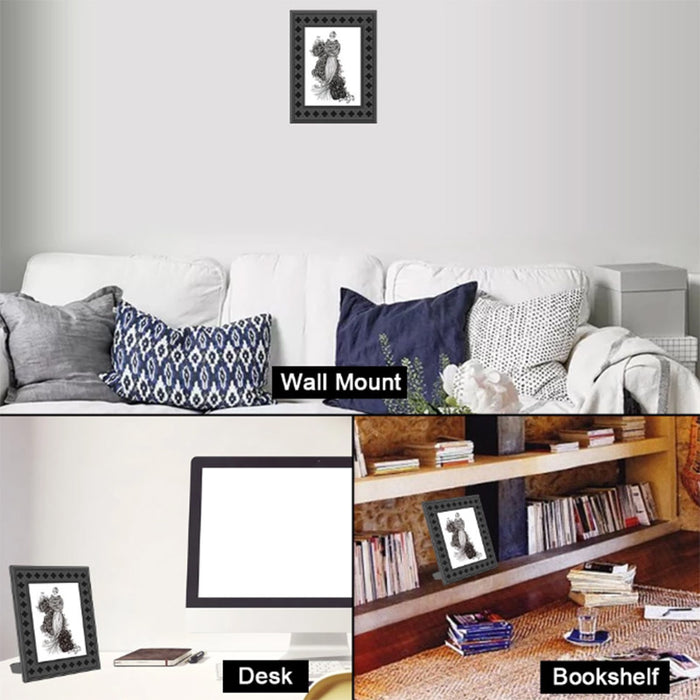 720p Wifi Hidden Nanny Camera Photo Frame with Night Vision Motion Detection