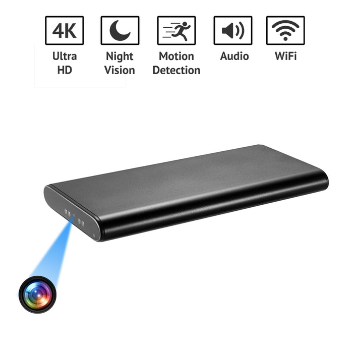 4k Ultra High Resolution Portable Charger Spy Camera Portable Charger of 10000 mah