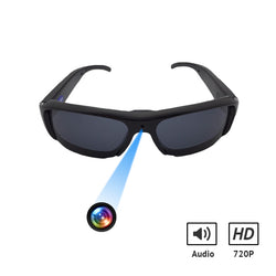 720p HD Spy Camera Glasses Hidden Eyewear Waterproof Video Recorder