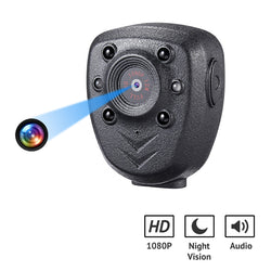1080p HD Micro Size Body Camera with IR Night Vision