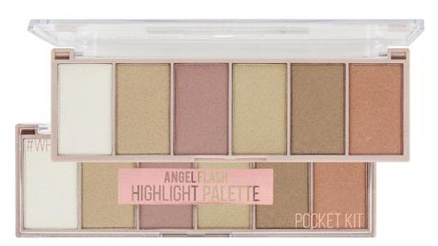 Paleta Iluminador Highlight Pocket Angel Flash By Ruby Rose