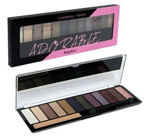 Paleta De Sombras Adorable By Ruby Rose