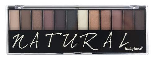 Paleta De Sombras Natural By Ruby Rose