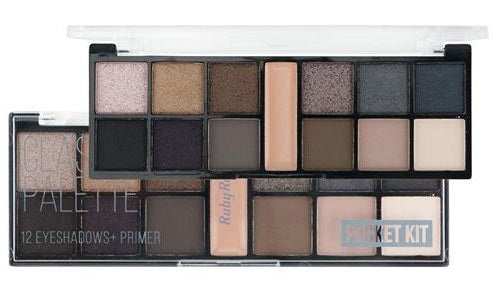 Paleta De Sombras Pocket Classic By Nature - Ruby Rose