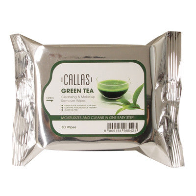 Green Tea Cleansing & Make-up Remover Wipes
