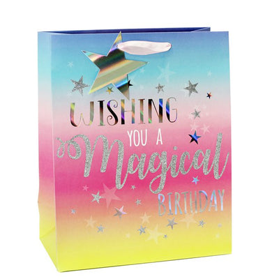 Magical Birthday Large Gift Bag