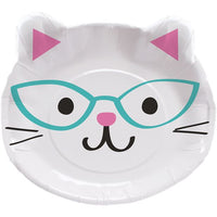 Purr-fect Assorted Cat Paper Plates