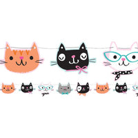 Purr-fect Party Shaped Bunting