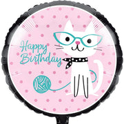 Purr-fect Party Metallic Balloon