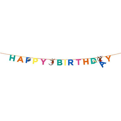 Party Animals Birthday Banner