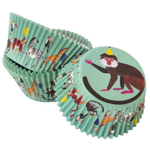 Party Animals Cupcake Baking Cups