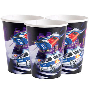 Police Themed Cups