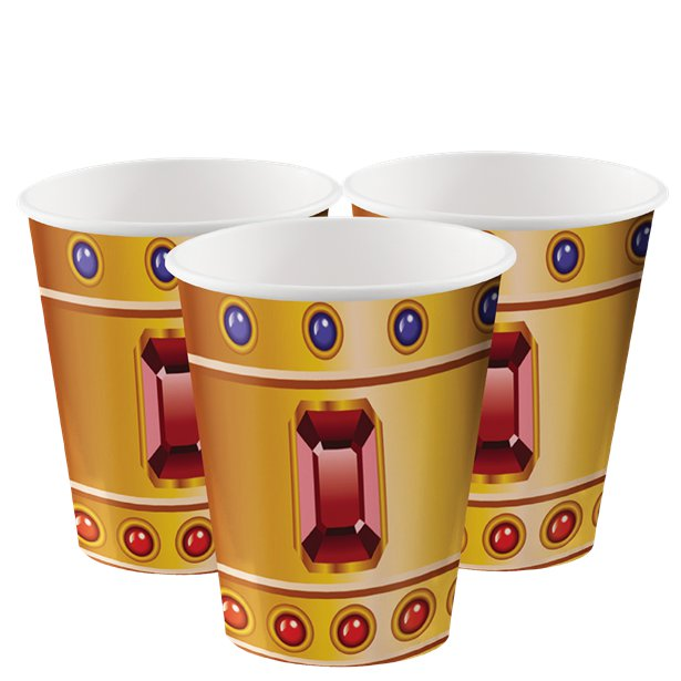 Pirate Treasure Party Cups