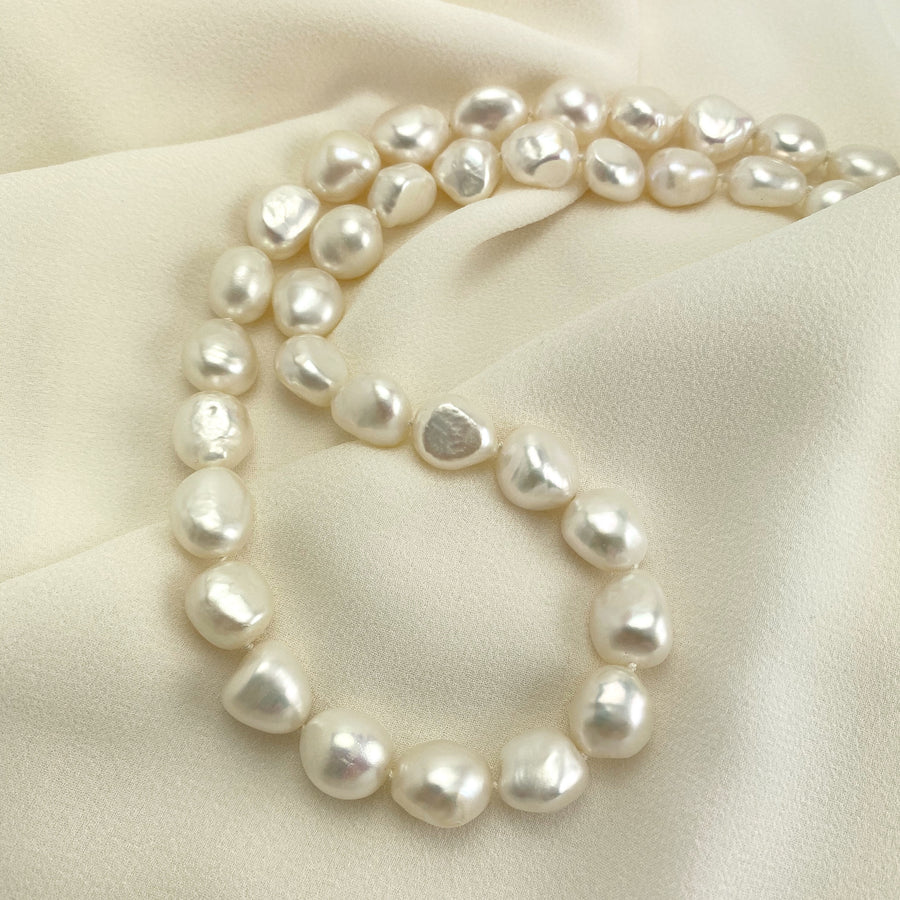 Waltz Baroque Freshwater Pearl Necklace
