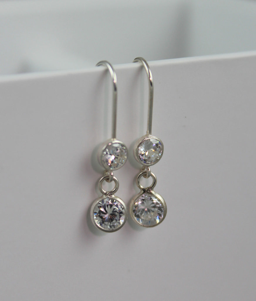 Ballet Droplets (Brilliant) Sterling Silver Earrings