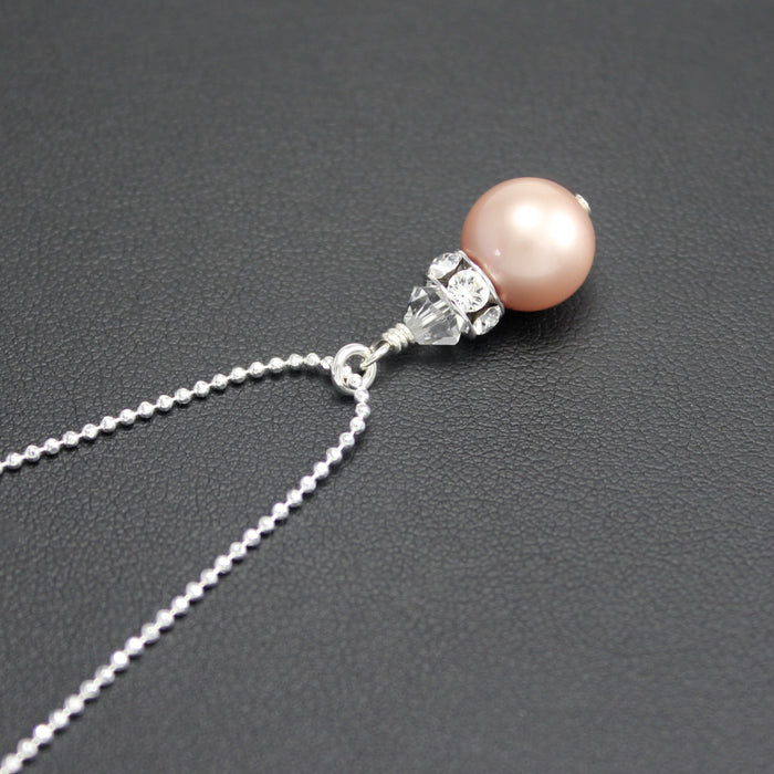Classical Petite Luxe Necklace (Almond Pearl)