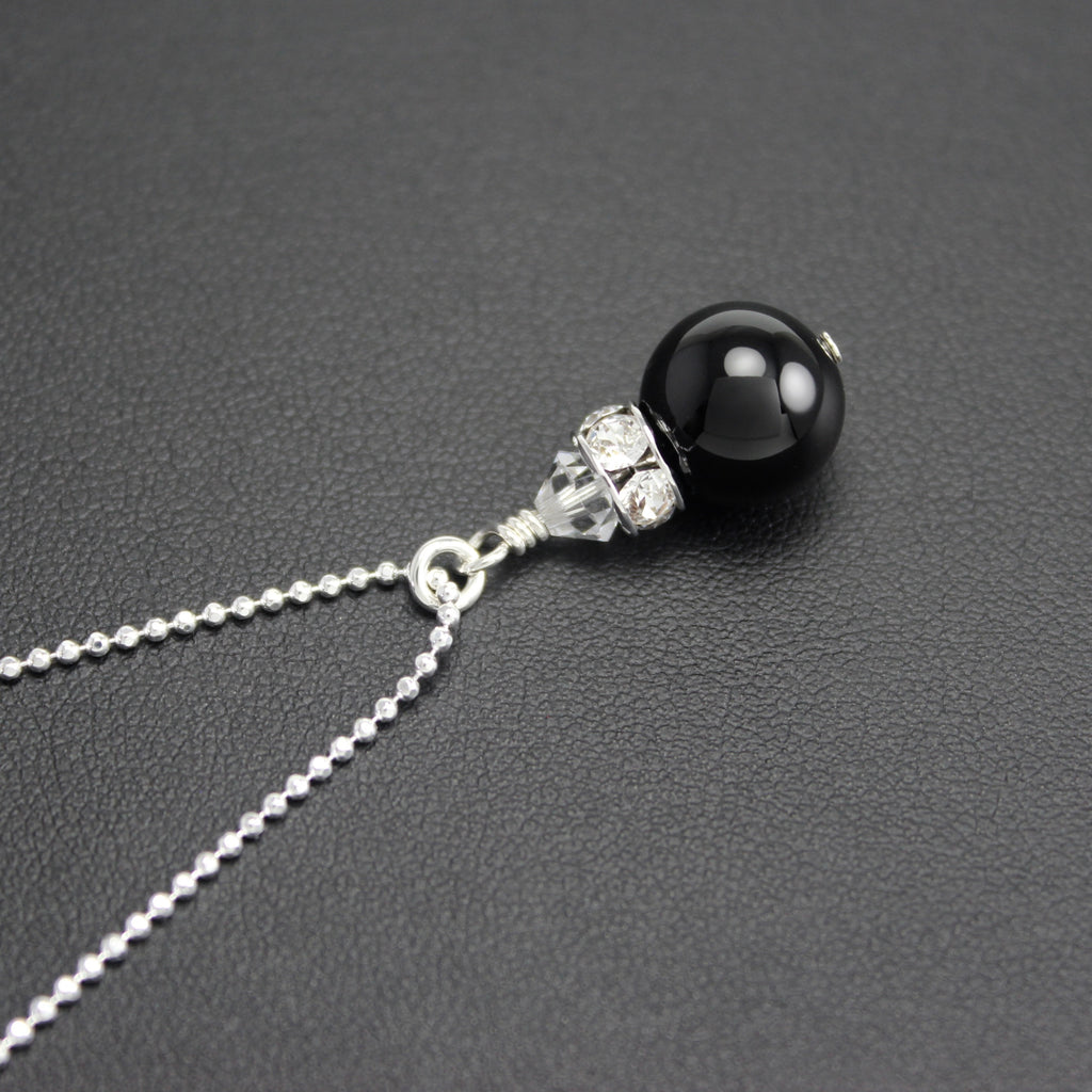 Classical Petite Luxe Necklace (Black Onyx)