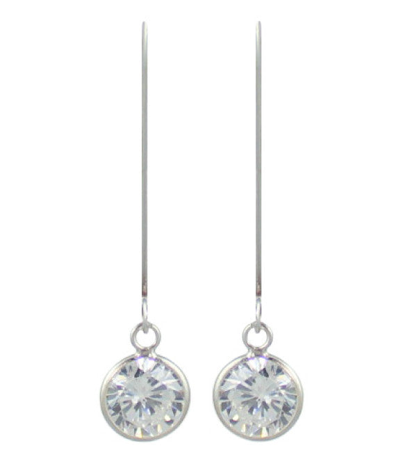 Ballet (Brilliant) Drops Sterling Silver 9mm