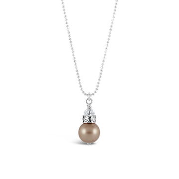Classical Petite Luxe Necklace (Powdered Almond)