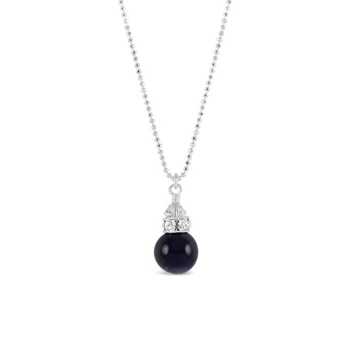 Classical Petite Luxe Necklace (Amethyst)